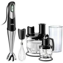 Braun MultiQuick 7 Hand Blender MQ785 Patisserie Plus Premium Black Stainless Steel (200V 240V)