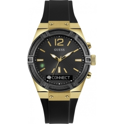 Unisex Guess Connect Bluetooth Hybrid Smartwatch Chronograph Watch C0002M3