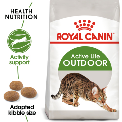 Royal Canin Outdoor Dry Adult Cat Food 4kg