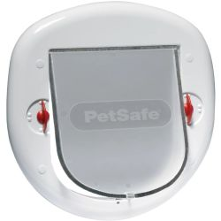 PetSafe 4 Way Pet Flap 280 White 5001