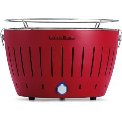LotusGrill Smokeless Charcoal Grill BBQ Red