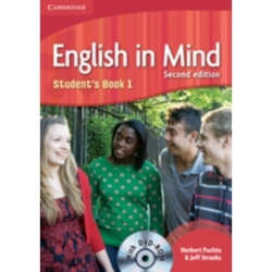 English in Mind Level 1 Student 039 s Book with DVD ROM by Jeff Stranks Herbert Puchta (Mixed media product 2010)