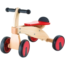 Legler Small Foot Red Racer Ride on Wooden Kid 039 s Toy Multi colour