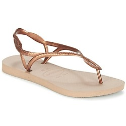 Havaianas LUNA women's Flip flops Sandals (Shoes) in Gold