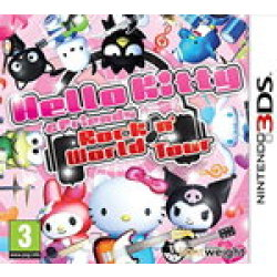 Hello Kitty and Friends Rocking World Tour (Nintendo 3DS)