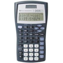 Texas Instruments TI 30 X IIS CAS calculator Black Silver Display (digits) 11 solar powered battery powered (W x H x D) 82 x 19 x 155 mm