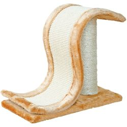 Trixie Inca Scratch Wave with Scratching Post approx. 44 x 25 x 39 cm (L x W x H)