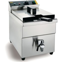 Buffalo Single Tank Single Basket Induction Fryer 3kW