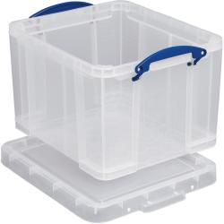 REALUSE REALLY USEFUL EURO BOX CLEAR 35LT 35C