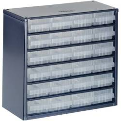 raaco 624 01 Small parts container (W x H x D) 306 x 283 x 150 mm No. of compartments 24