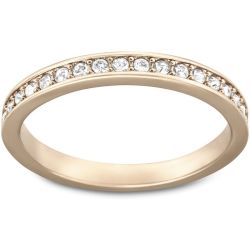 Rare Ring White Rose gold tone plated