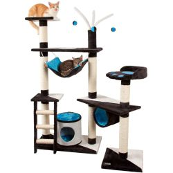 Kerbl Cat Tree Creativ 150 cm Blue 81505