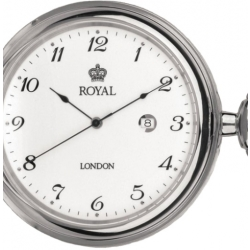 Royal London Full Hunter Pocket Watch 90000 01