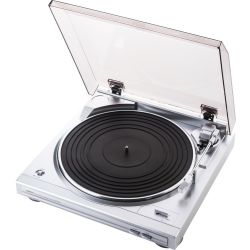 DENON DP 29F Belt Drive Turntable Silver Silver