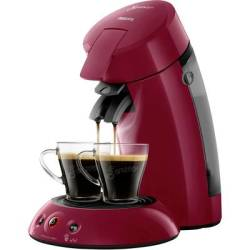 SENSEO® HD6554 90 Original Pod coffee machine Ruby red