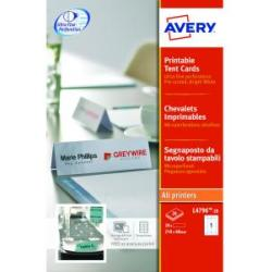 Avery Tent Cards 210x60mm Pack of 20