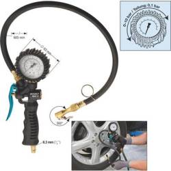 Hazet Pneumatic tyre inflator 1 4 (6.3 mm) 10 bar
