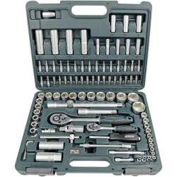 Brueder Mannesmann Bit set Metric 1 4 (6.3 mm) 1 2 (12.5 mm) 94 piece M98410
