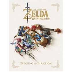 The Legend of Zelda Breath of the Wild Creating a Champion Hardcover by Nintendo (2018 Hardcover)