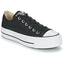 Converse Chuck Taylor All Star Lift Canvas Low Top Women's Black