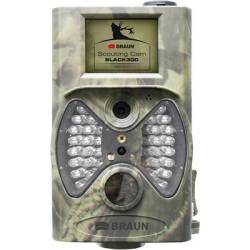 Braun Germany Scouting Cam Wildlife camera 12 MP Black LEDs Remote control Camouflage