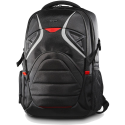 Targus Strike Backpack for 17.3 Inch Gaming Laptop Black Red