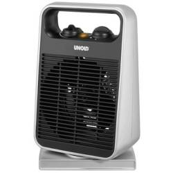 Unold 86116 Fan heater Black Silver