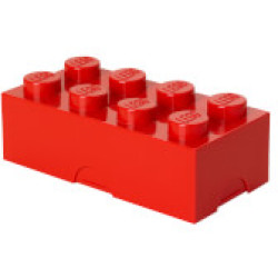 LEGO Lunch Box Bright Red