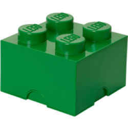 LEGO Storage Brick 4 Dark Green