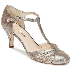 Jonak LAORA women's Court Shoes in Silver
