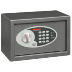Phoenix Vela Home and Office Security Safe with Electronic Lock Size 1 Grey
