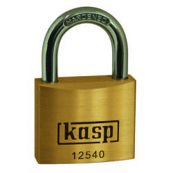 Kasp K12540 Padlock 40 mm Gold yellow Key