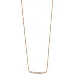 Ladies Emporio Armani Sterling Silver Pure Pave Necklace EG3258221