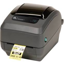 Zebra GK420T Label printer Thermal transfer 203 x 203 dpi Max. label width 110 mm USB LAN
