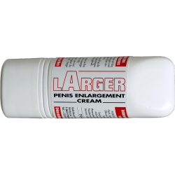 LARGER PENIS ENLARGEMENT CREAM 75ML  with the box