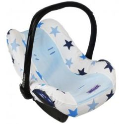 Dooky Group 0 Car Seat Cover Blue Stars Blue