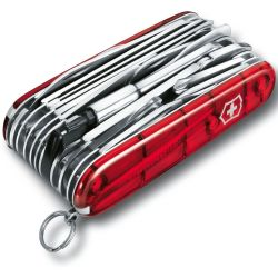 Victorinox Swiss Champ XLT 1.6795.XLT Swiss army knife No. of functions 50 Red (transparent)