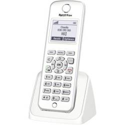 AVM FRITZ Fon M2 Cordless VoIP Baby monitor Hands free Backlit White Silver
