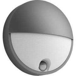 Philips Lighting Capricorn 164569316 LED outdoor wall light ( motion detector) 6 W Warm white Anthracite