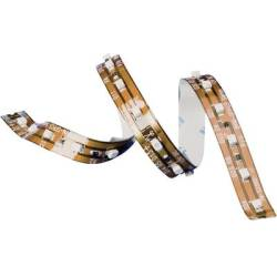 150741 LED strip open cable ends 12 V 67.2 cm Warm white