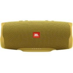 JBL Charge 4 Portable Speaker Mustard Yellow Yellow