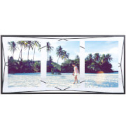 Umbra Prisma Three Photo Frame Display Black 6 x 4