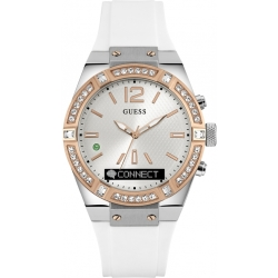 Unisex Guess Connect Bluetooth Hybrid Smartwatch Watch C0002M2