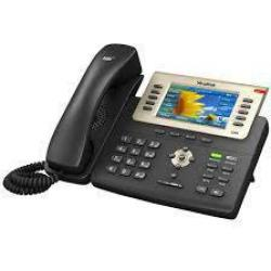 Yealink SIP T29G Corded VoIP Headset connection Hands free Colour TFT LCD Black