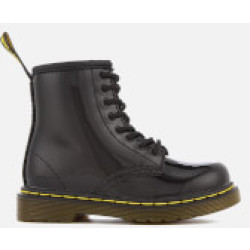 Dr. Martens Toddlers' 1460 T Patent Limper Lace Up Boots Black UK 6 Kids
