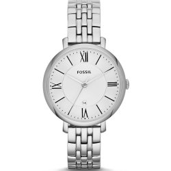 Fossil Women Jacqueline Stainless Stainless Steel Watch Silver One size