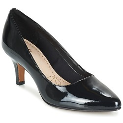 Clarks ISIDORA FAYE women's Court Shoes in Black