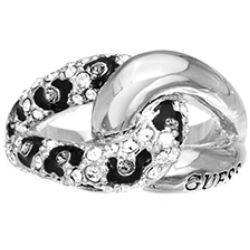 Ladies Guess Stainless Steel Size L.5 Ring