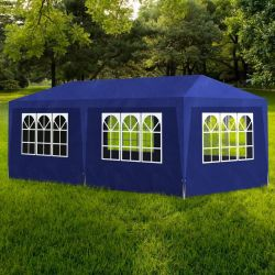 vidaXL Party Tent 3x6 m Blue