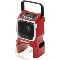 Einhell Power X Change TE CR 18 Li Solo Workplace radio FM AUX Red
